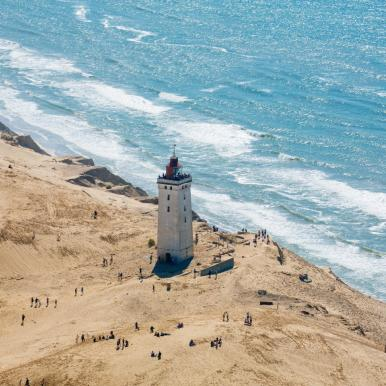 Rubjerg Knude Lighthouse Overview
