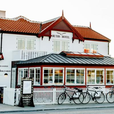 Ruths Hotel is a famous seaside hotel located in Skagen, Denmark.