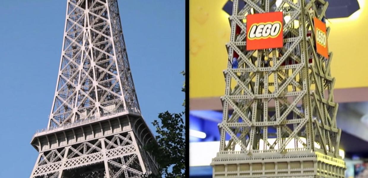 The LEGO Movie - Eiffel Tower