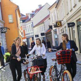 Bikes in Aarhus, business events Denmark