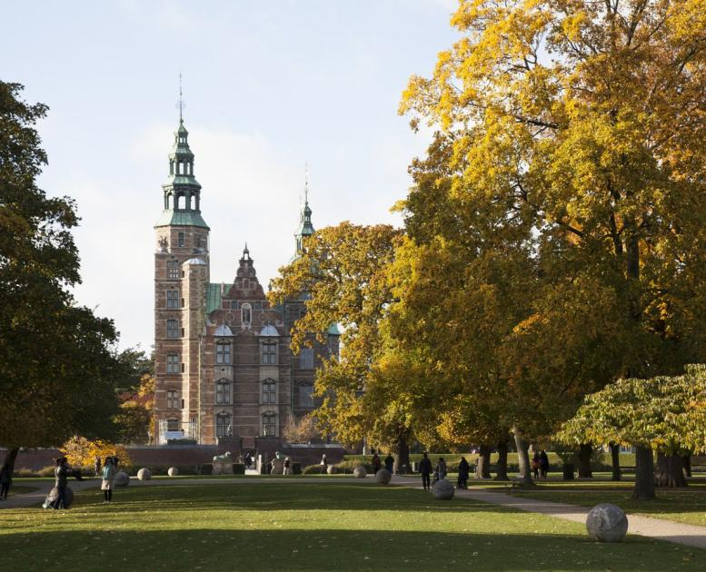 Rosenborg Castle in the heart of Copenhagen